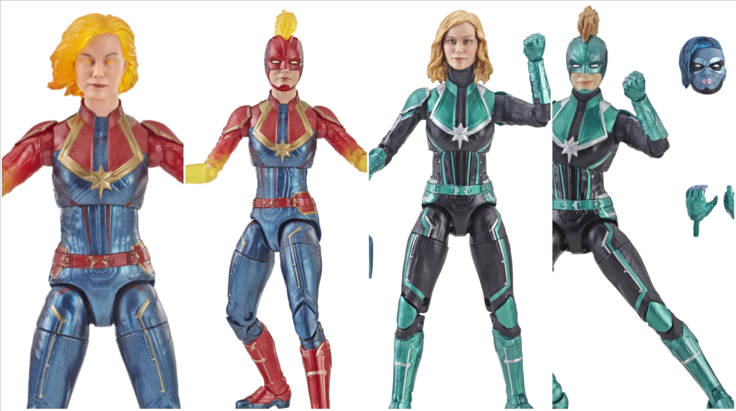 Captain Marvel Hasbro Marvel Legends Series 6-inch Captain Marvel