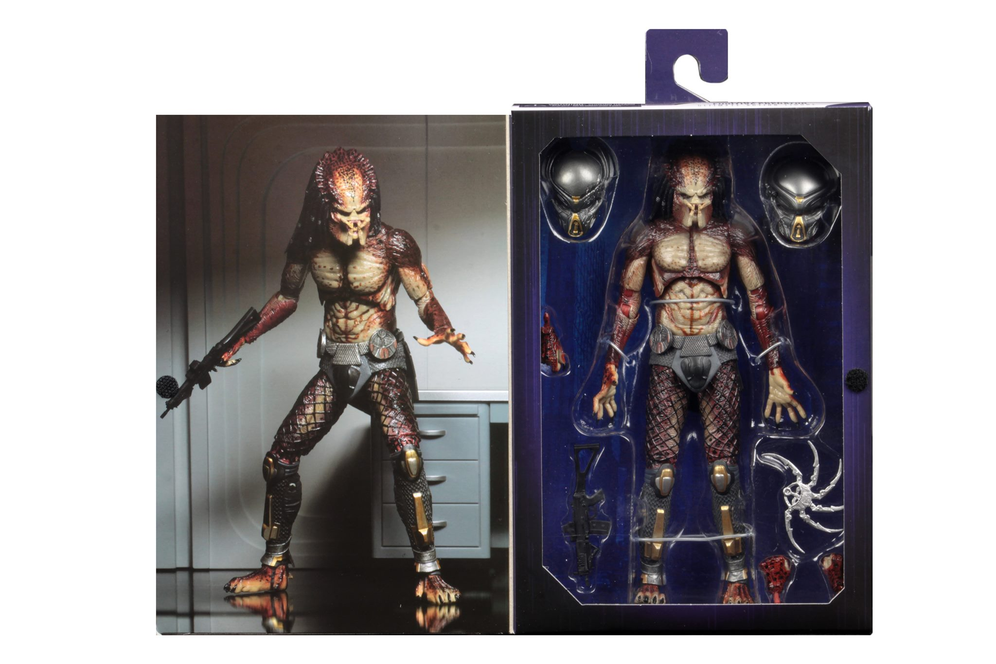 NECA Lab Escape Fugitive Predator In-Packaging and Available