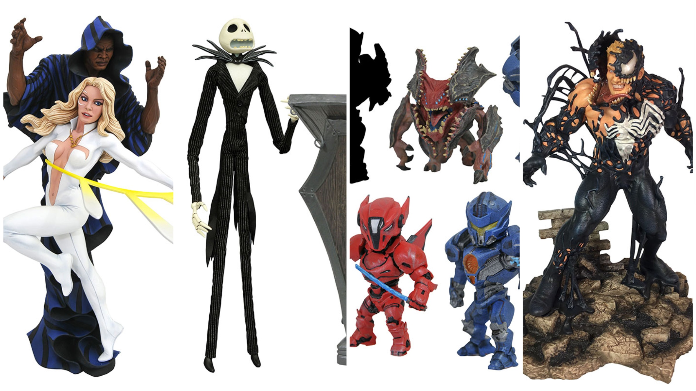 Diamond Select Toys In Stores Now Venom Black Panther Pacific